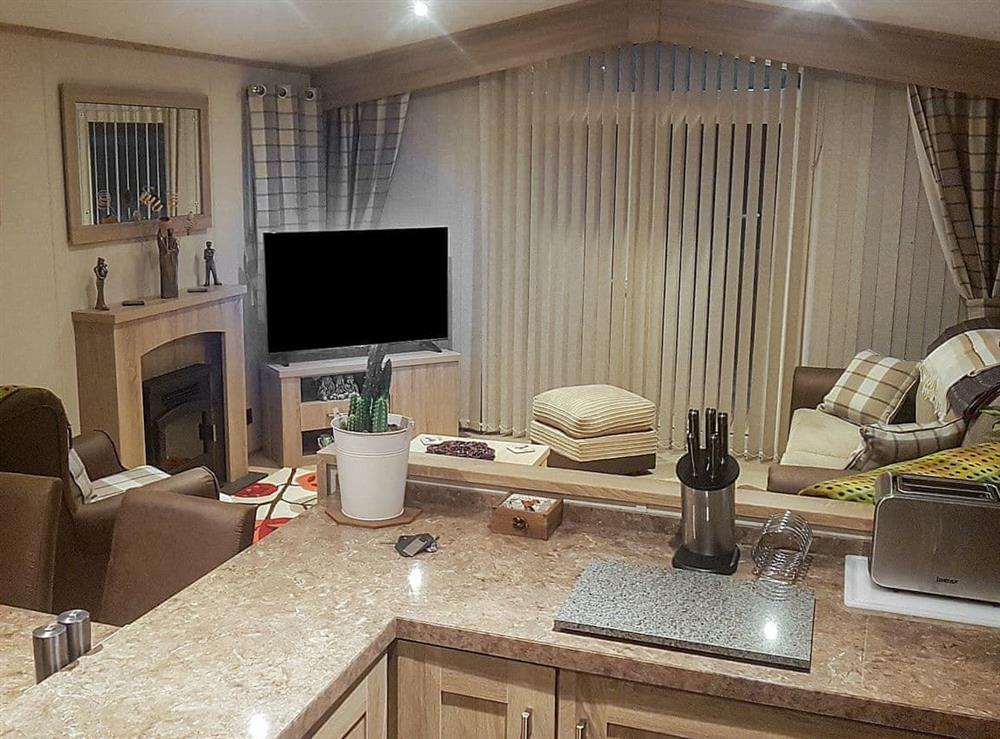Open plan living space at Woodlands in Sewerby, near Bridlington, North Humberside
