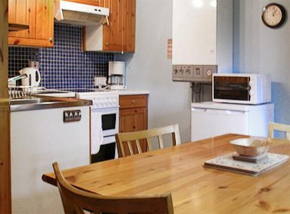 Kitchen/diner at Woodpecker Cottage in North Kessock, Inverness, Inverness-Shire