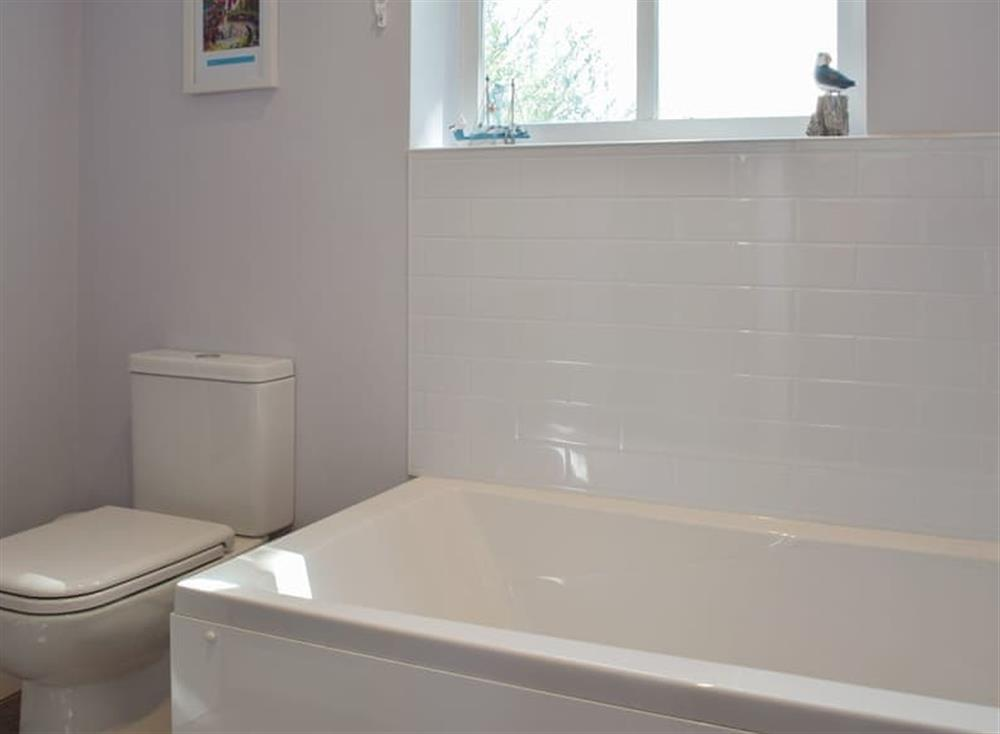 En-suite bathroom at Woodpecker Rest in Llechryd, near Cardigan, Cardigan, Dyfed