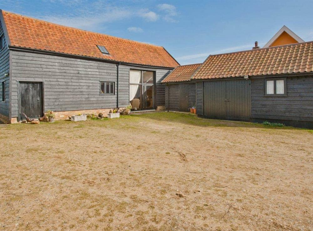 Exterior at Woodside Barn Cottages in Friston, Saxmundham, Suffolk., Great Britain