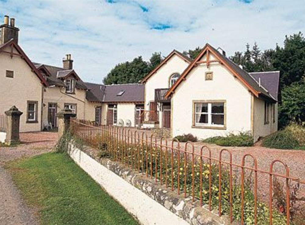 Exterior at Woodstock in Whitmuir, Selkirk, Selkirkshire