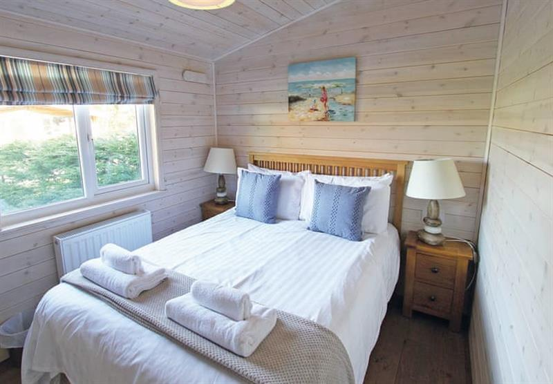 Bedroom in the Woodlands Lodge 4 at Woodthorpe Leisure Park in Woodthorpe, Lincolnshire