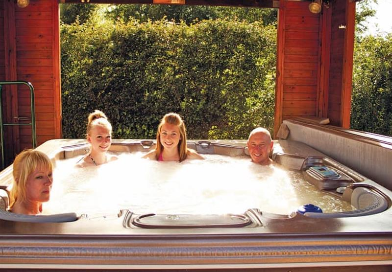 Hot tub! at Woodthorpe Leisure Park in Woodthorpe, Lincolnshire