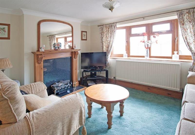 Inside Cowslip Cottage at Woodthorpe Leisure Park in Woodthorpe, Lincolnshire