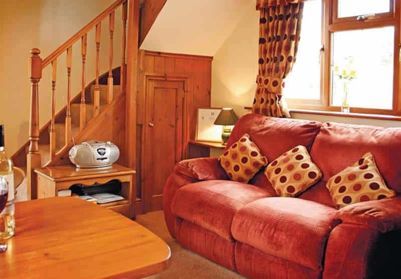 Inside the Buttercup Cottage at Woodthorpe Leisure Park in Woodthorpe, Lincolnshire