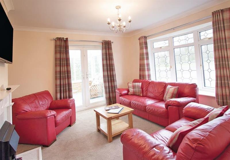 Inside the Woodlands Bungalow at Woodthorpe Leisure Park in Woodthorpe, Lincolnshire