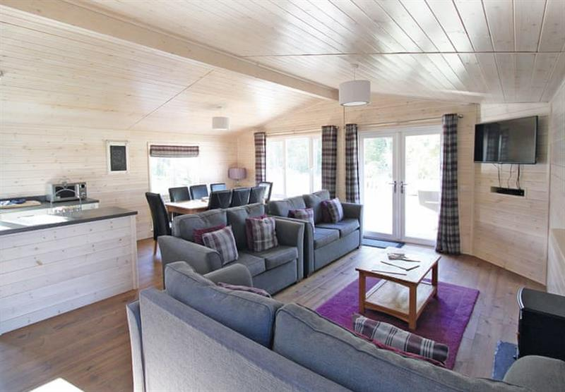 Inside the Woodlands Lodge 4 at Woodthorpe Leisure Park in Woodthorpe, Lincolnshire