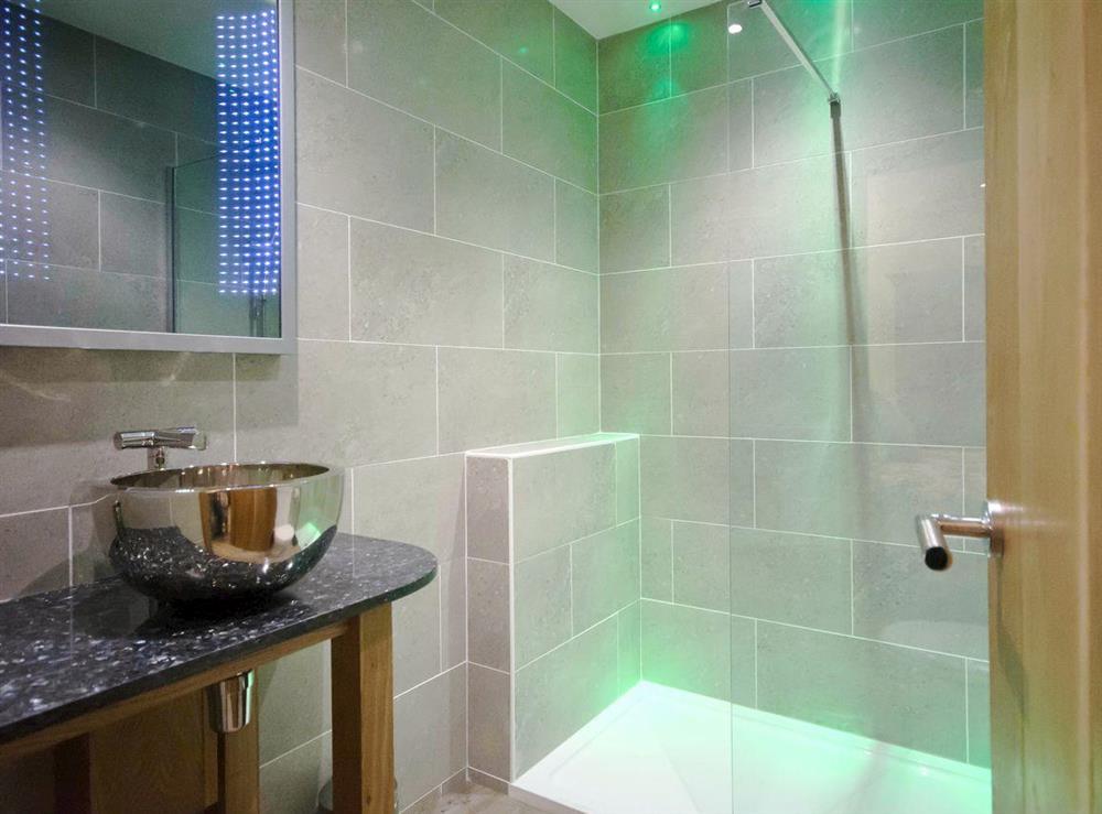 En-suite with walk-in rainfall shower