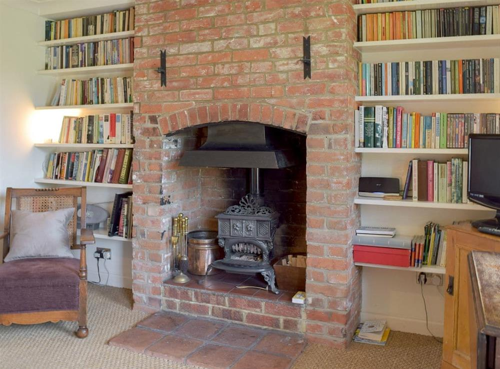 Characterful living room at Wren Cottage in Wisset, near Halesworth, Suffolk