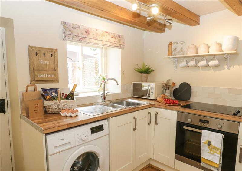 The kitchen at Wrens Nest Cottage, Guisborough