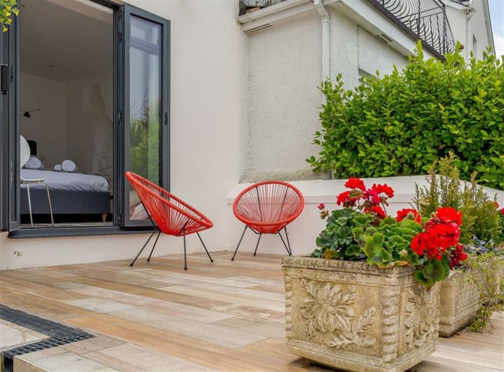 Additional patio area