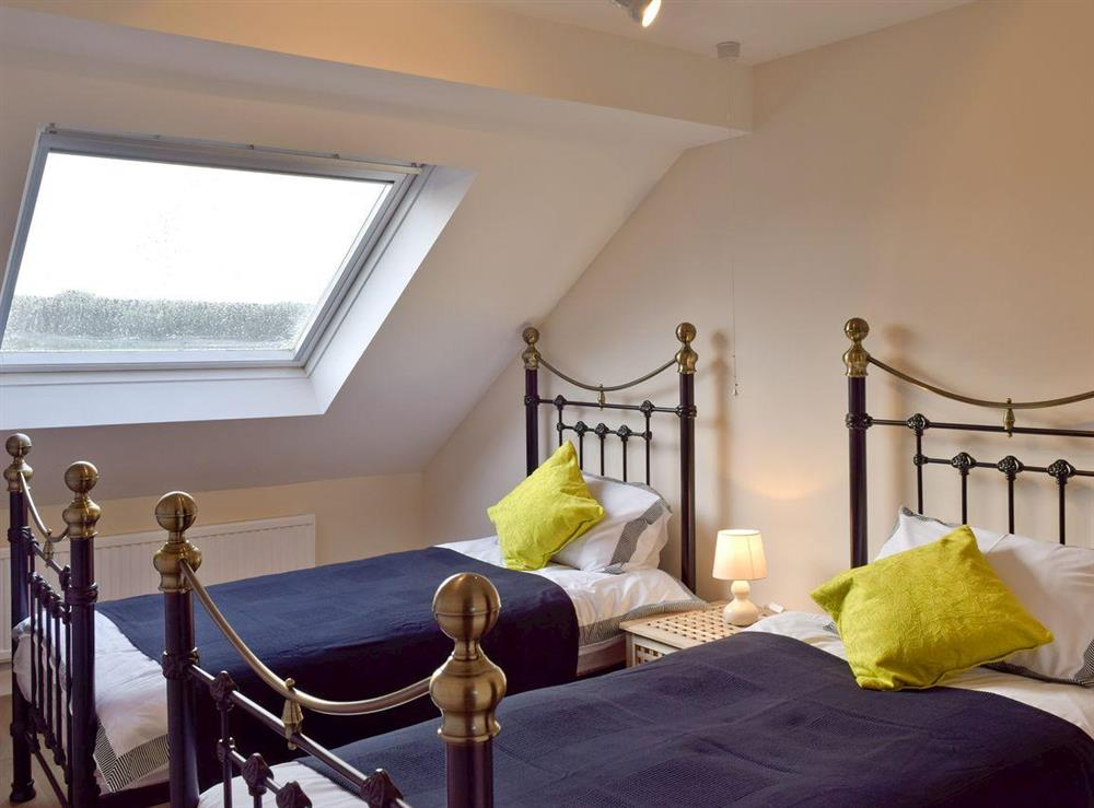 Appealing twin bedroom at Y Dorlan in Cardigan, Dyfed