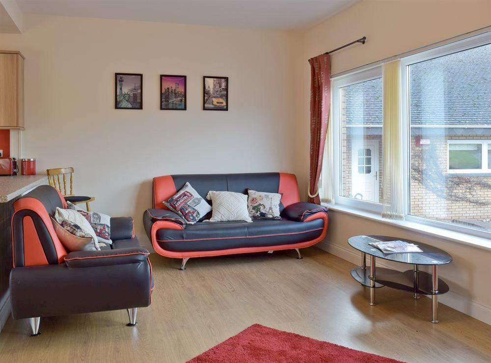 Convenient living area in annex at Y Dorlan in Cardigan, Dyfed