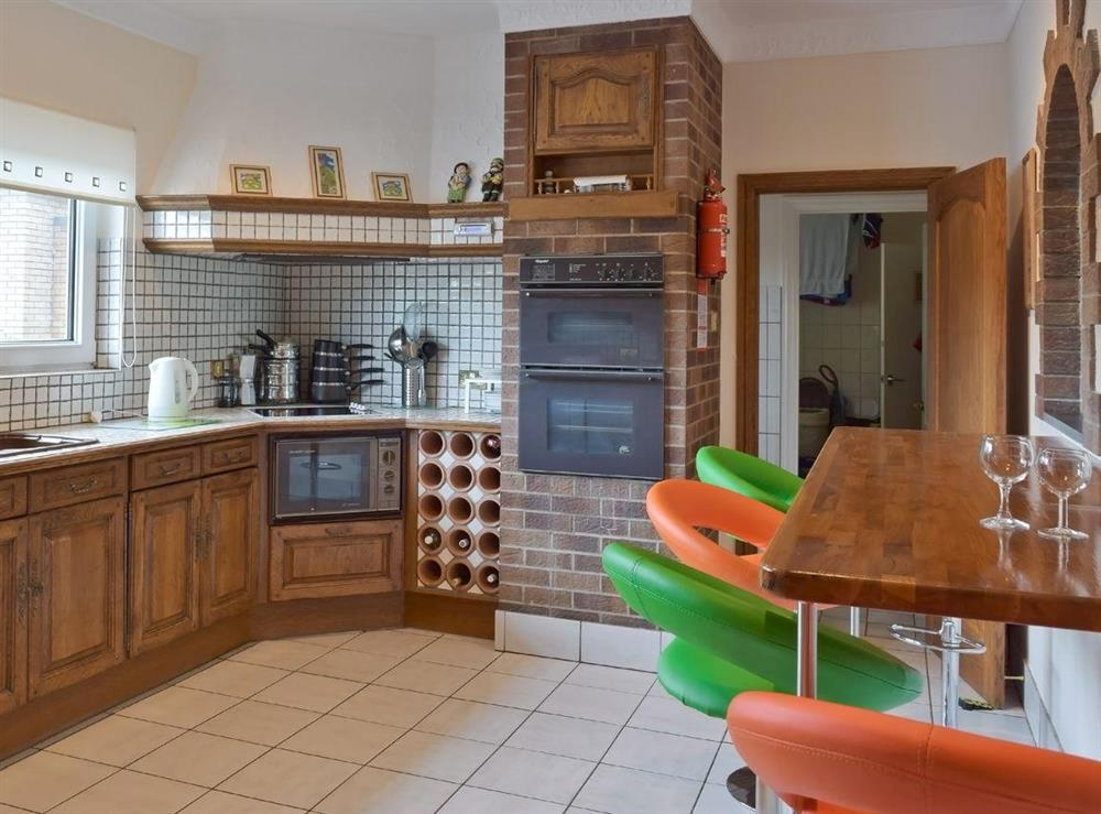 Large fully fitted kitchen at Y Dorlan in Cardigan, Dyfed
