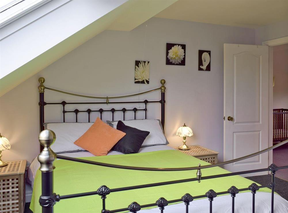 Light and airy double bedroom at Y Dorlan in Cardigan, Dyfed