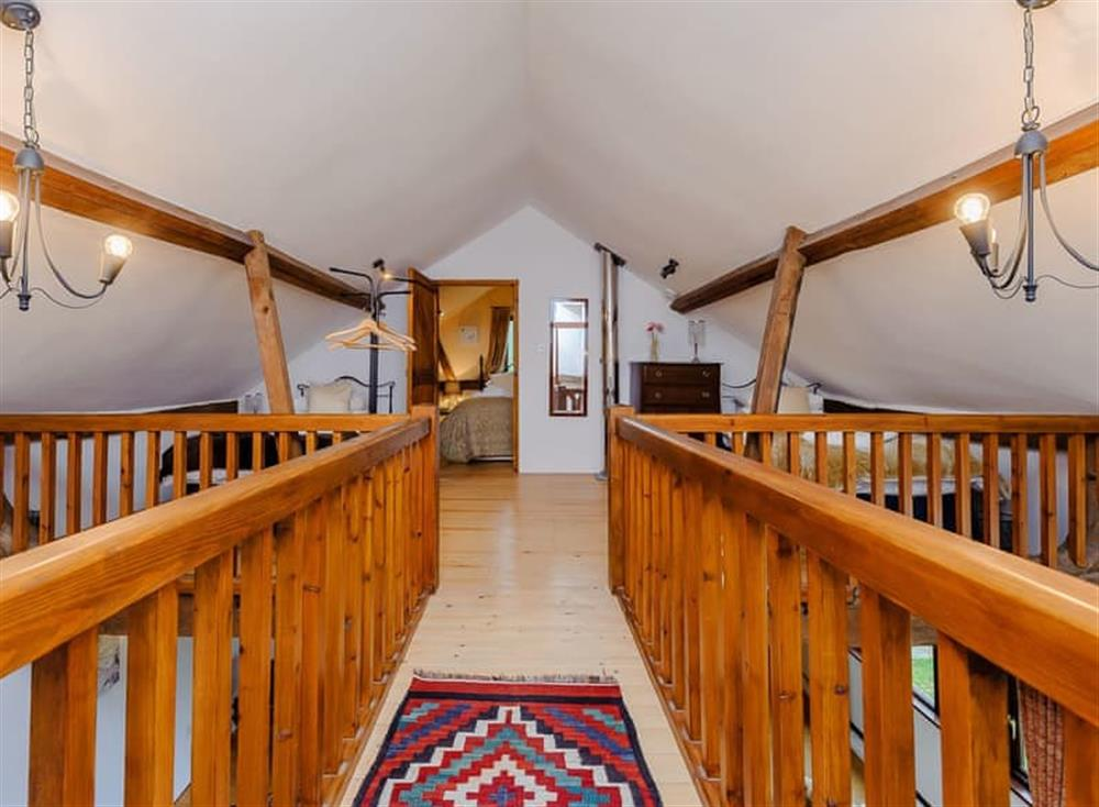 Galleried landing leading to mmezzanine and double bedded room