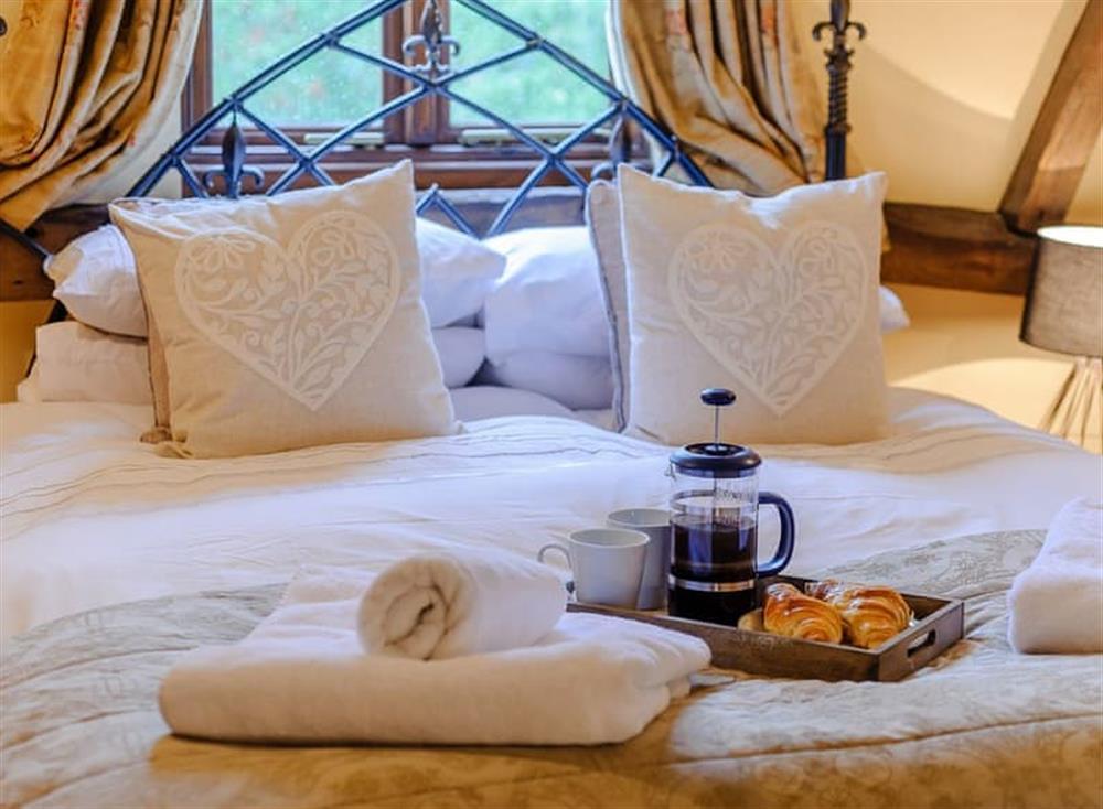 Lie in and enjoy breakfast in bed