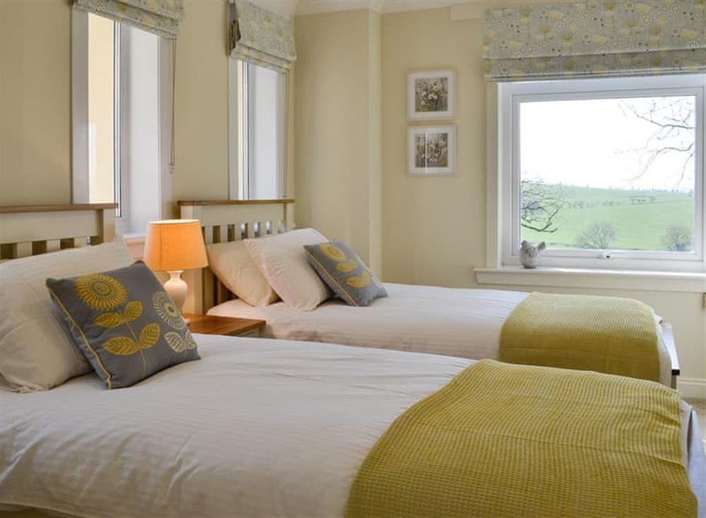 Twin bedroom at McGill Cottage,