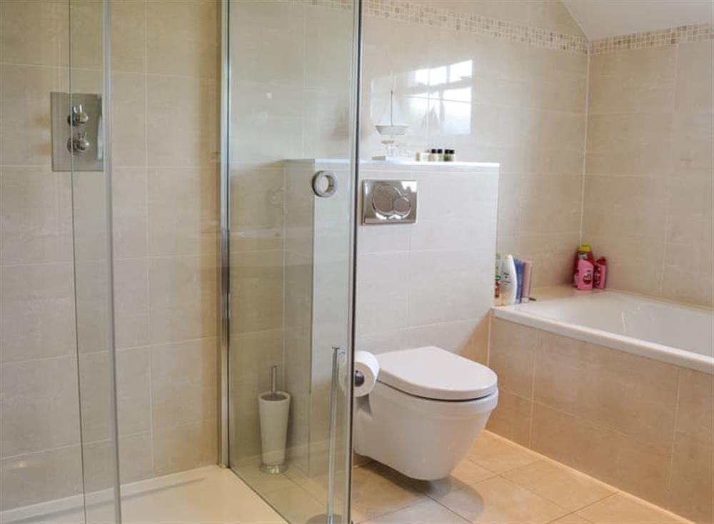 Bathroom with separate shower at Yonderton House,