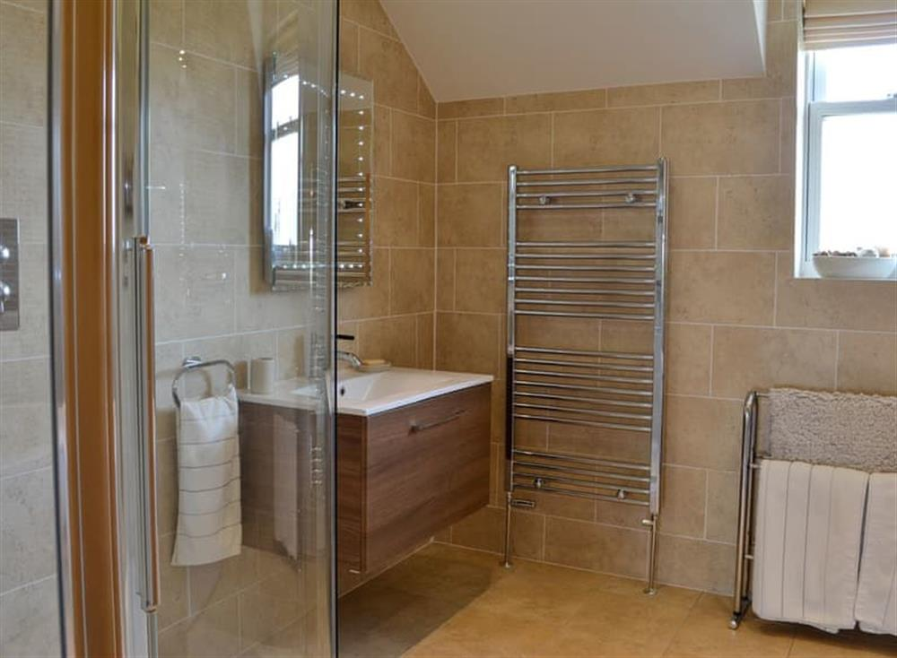 Bathroom with shower at Yonderton House,