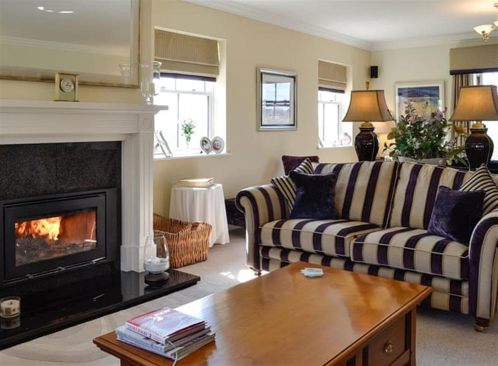 Cosy living room at Yonderton House,