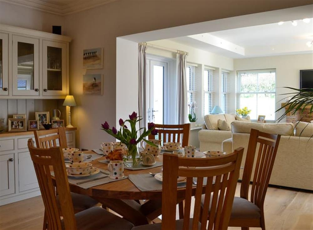 Dining area at Yonderton House,