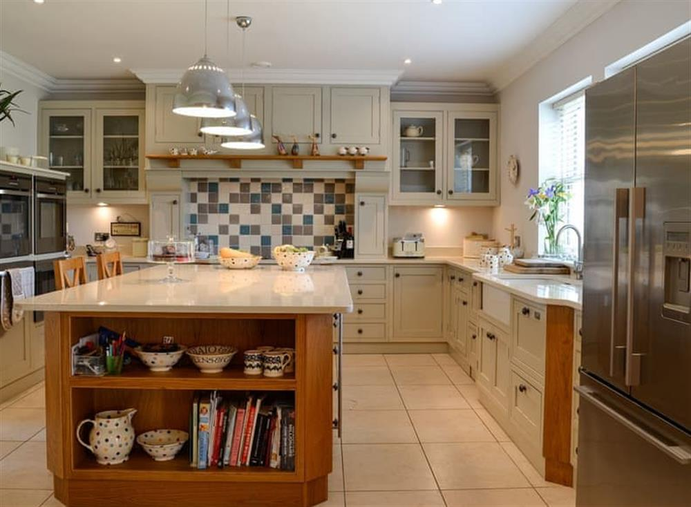 Well appointed kitchen at Yonderton House,