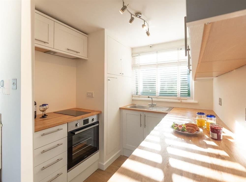 Fully appointed fitted kitchen at Chalet Peace,
